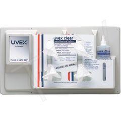 "SR366 Clear® Lens Cleaner Station Plastic L 22.5"" x D 4.5"" x H 12.5"" UVEX #S461"