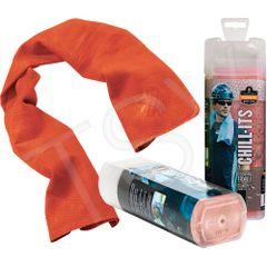SEB126 Chill-Its® 6602 Cooling Towels PVA REUSABLE (ORANGE/LIME/BLUE/PINK/GREY) ERGODYNE