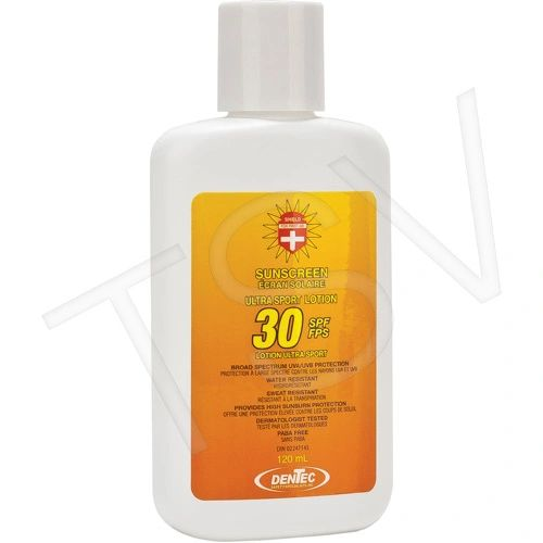 JD320 SUNSCREEN SPF30 FIRST AID 4oz against UVA/UVB rays Water/Sweat resistant Paba-free Lotion