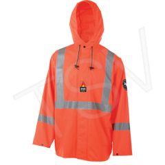 SDL911 Alberta Stretch Rainsuit Jacket 100% Flame Fesistant 3M Reflective Stripe HELLY HANSEN (S-XL) Certified EN533
