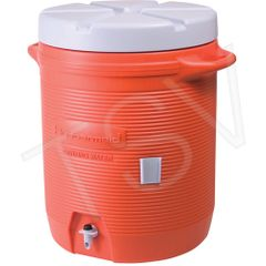 NI656 Industrial Water Coolers 10 GALLON INSULATED Leak Resistant Heavy Duty RUBBERMAID