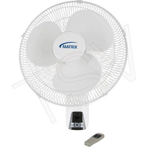 """EA526 16"""" Wall Mount Oscillating 16"""" Fans Motor 120 3-Speed MATRIX"""