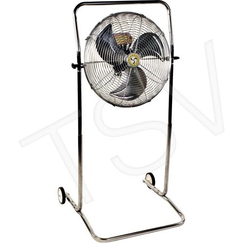"EA335 18"" Cart Mounted Fans 3-Speed HP: 1/8 4"" casters AIRMASTER"