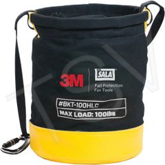 "SFV223 Tool Lifting Safe Bucket 12.5""D x 5""H D-Ring Connectors 3M DBI SALA FALL"