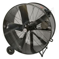 "EA662 Heavy-Duty Fixed Belt Drive Drum Fans 42"" Speeds: 2 MATRIX"