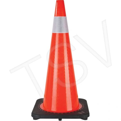"""SEF027 Traffic Cones Height: 28"""" Orange Reflective Collars: 4"""" *ON, AB Zenith Distancing"""