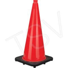 "SEB771 Premium Traffic Cones Height: 28"" Orange Reflective 3M Intense Color ZENITH"