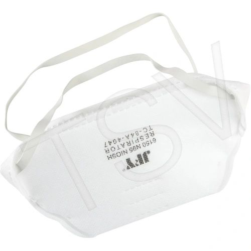 SDN711 Particulate Flat Fold Respirator Valve or Without Niosh N95 (SZs Med/Lar) ZENITH