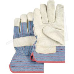 SAO051 Grain Cowhide Fitters Standard Quality Gloves, Large, Unlined Size: Large ZENITH