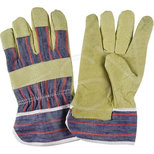 SDP099 Grain Pigskin Fitters Gloves Size: Large Lining: Unlined Leather Palm Type: Grain Pigskin Cuff Style: Safety ZENITH