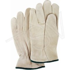 SM584 Grain Cowhide Drivers Gloves, Lining: Unlined Leather Palm Grain Cowhide Thumb Style: Keystone (SZs SML-XLR) ZENITH
