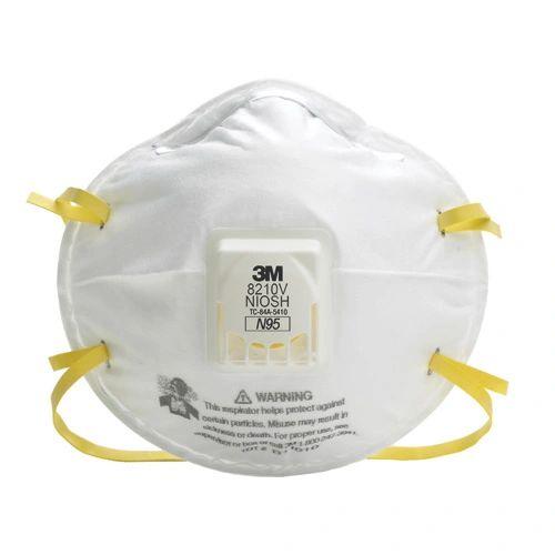 SEF203 3M 8210V N95 Particulate Respirators with Valve 10/BX