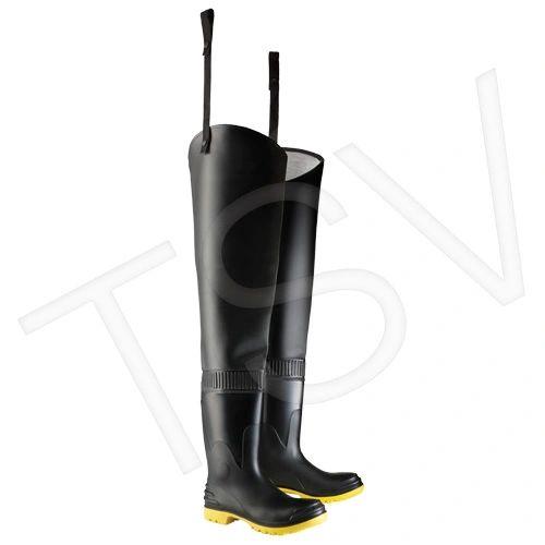 "SAP602 Hip Waders PVC 35"" HEEL-TOP Steel Toe ASTM F2413-05 CSA (SZ 6-13) ONGUARD #86856"