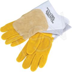 SAV008 Welders' Pipeliner Gloves, Large Unlined Leather Palm Split Cowhide (LRG or XLR) WELD-MATE