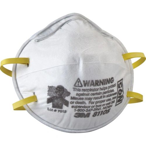 ***TEMPORARILY RESTRICTED FROM ORDERING*** SAM402 3M 8110S N95 Particulate Respirators 20/BX SMALL SIZE