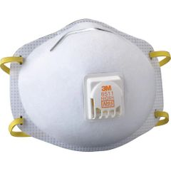 SE261 3M 8511 N95 Particulate Respirators 10/BX