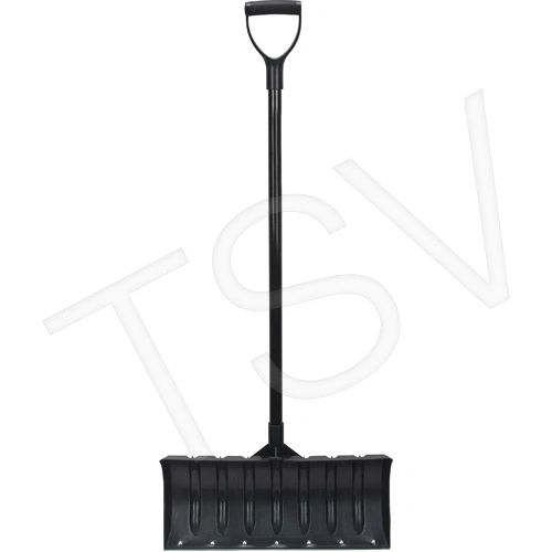 "NJ153 SHOVEL, SNOW Blade Size: 21 1/8"" x 9"" POLY D GRIP 49inch POWDER COAT STEEL HANDLE"