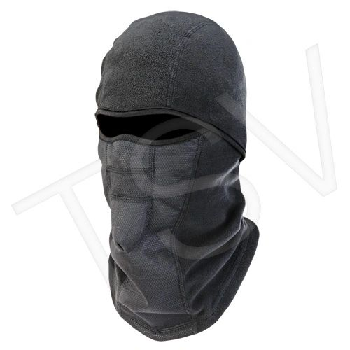 SEL893 N-Ferno ® 6823 Wind-proof Hinged Balaclava Fleece Black ERGODYNE 16823