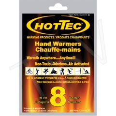 "SDN880 HOTTEC Hand Warmers Dimensions: 3-3/4"" x 2-1/4"" Cold/Hot: Hot Reusable: Single Use 8 HOURS"