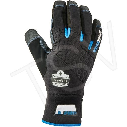SFU625 ProFlex ® 818WP Performance Thermal Waterproof Gloves Thinsulate Leather Palm Polyurethane Cuff Style: ERGODYNE (SML-2XL)