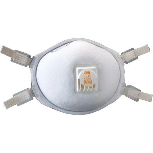 SE262 3M 8212 N95 Particulate Respirators 10/BX
