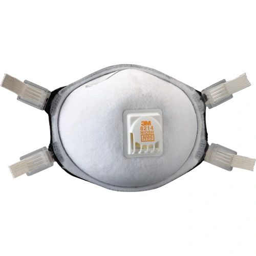 SE883 3M 8214 N95 Particulate Respirators 10/BX