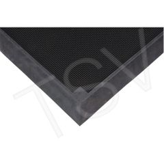 "SDL873 Foot Sanitizing Mat Width: 2-2/3' Length: 3-1/4' Thickness: 2-1/2"" Colour: Black ZENITH"