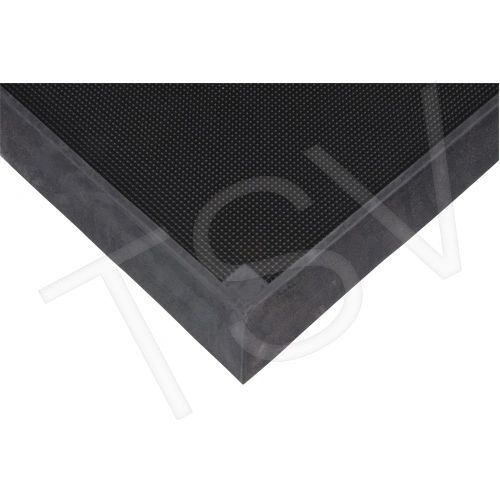 "SDL873 Foot Sanitizing Matting Width: 2-2/3' Length: 3-1/4' Thickness: 2-1/2"" Colour: Black ZENITH Mats"