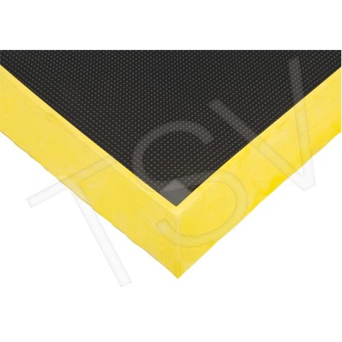 "SDL874 Foot Sanitizing Matting Width: 2-2/3' Length: 3-1/4' Thickness: 2-1/2"" Colour: YELLOW ZENITH Mats"