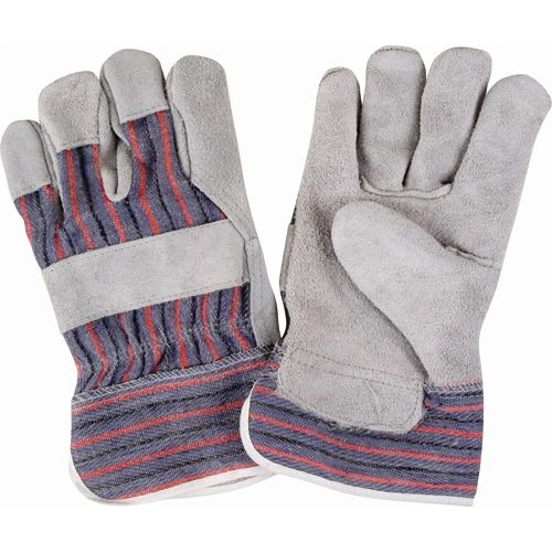 SM575 Split Cowhide Fitters Gloves, BETTER Quality, LARGE