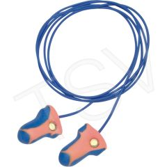 SAK189 Laser-TrakTM Detectable Earplugs HOWARD LEIGHT #LT-30 INDIVIDUALLY WRAPPED CORDED 100/BX