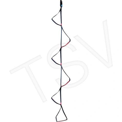 SAM518 Rescue Etrier 6' loops Length: 7' Vertical Difficult Edges SRS3200 MSA