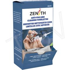 "SEE379 Lens Cleaner Towelettes for Safety Glassess Anti-Fog Anti-Static Dimensions: 5"" x 8"" 100/PKG Zenith"