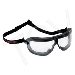 **DISCONTINUED** SH230 3M Fectoggles Safety Goggles Ventilation Closed Anti-fog/Anti-scratch Clear (Sz's Med/Lar) With Headband