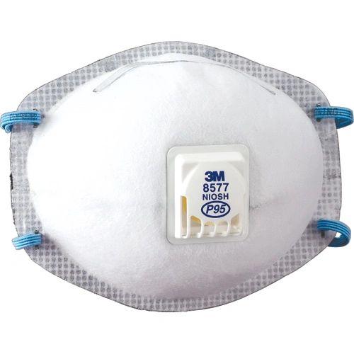 SE266 3M 8577 P95 Particulate Respirators 10/BX