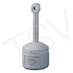 """NH832 Smokers Cease-Fire ® Capacity: 4 US gal. Plastic Height: 38-1/2"""" JUSTRITE"""