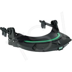 SEJ998 V-Gard ® Faceshield HEADGEAR Frame For Slotted Hardhats MSA (Use with Earmuff/HalfMask Pivots)