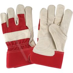SAP233 Premium Quality Lined Grain Cowhide Fitters Gloves ZENITH SZ LARGE