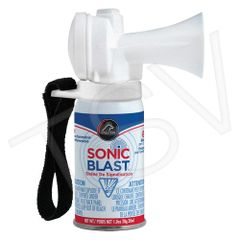 SFV120 Sonic Blast Mini Signal Horn - with Hook and Loop Strap Decibels: 112 Size:1oz FALCON SIGNAL HORN #SFSB1V