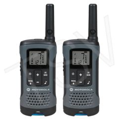 SFU791 T200 Two-Way Talkabout ® Radios Radio Band Type: UHF/GMRS/FRS Range: 32 km No. of Channels: 22 MOTOROLA