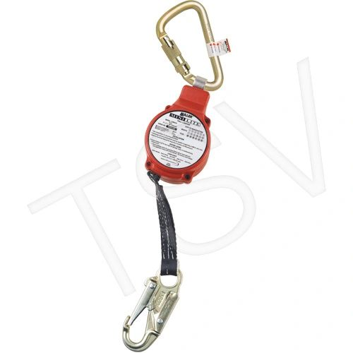 SG987 MiniLite Fall Limiters No. of SRLs: 1 Lifeline Length: 11' Lifeline Material: Web Harness Connection: Hook MILLER #FL11-3-Z7/11FT