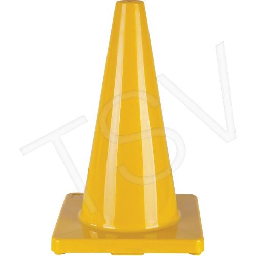 """SEH135 Coloured Cones Height: 18"""" Lightweight PVC ZENITH (Various Colours) Distancing"""