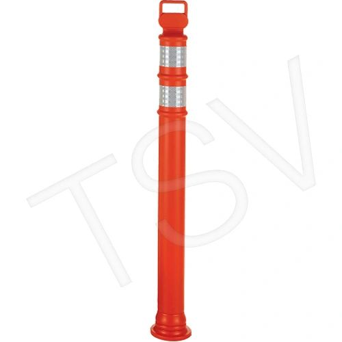 """SEJ658 Ez-Grab Delineator Posts Height: 42"""" Orange CCI Canada #03-747 (BASE AVAILABLE) Distancing"""