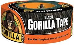 "NKA501 Gorilla Duct Tape Width: 48 mm (1-7/8"") Length: 10.97 m (36') Thickness: 17 mils BLACK GORILLA #60124"