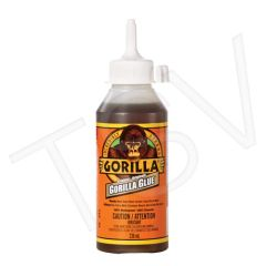 NKA498 Original Gorilla Glue Format: 8 oz. Container Type: Squeeze Bottle Colour: Tan Application Time: 10 min. GORILLA #51008T