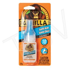NKA495 Gorilla Super Glue Format: 20 g Container Type: Bottle Colour: CLEAR GORILLA #7805201
