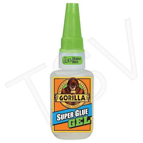 NKA494 Gorilla Super Glue Gel Format: 20 g Container Type: Bottle Colour: CLEAR GORILLA #7710101