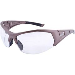 SAX444 SAFETY GLASSES WRAP-AROUND #Z900 CLEAR LENS