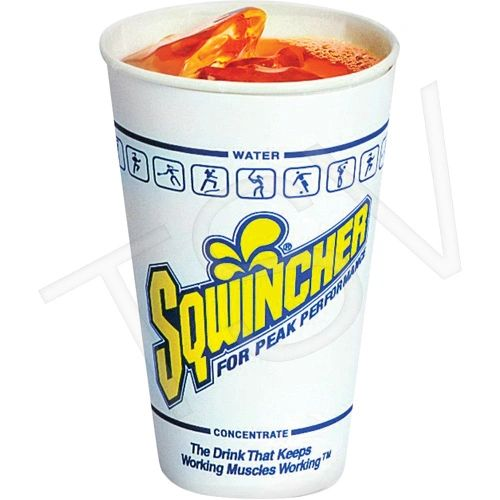 SAF895 Sqwincher ® 12oz Cups 100/Package #11304 (Fits SAF890 Dispenser)