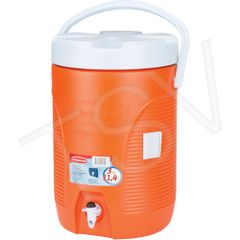 NI653 COOLER, WATER - 3 GALLON INSULATED LEAK RESISTANT Commercial RubberMaid (CUP DISPENSER OPTIONAL) FG16830111